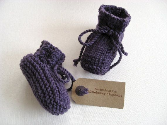 Cuillin+poco+in+viola++mano+maglia+baby+di+TheBlueberryElephant,+£20.00