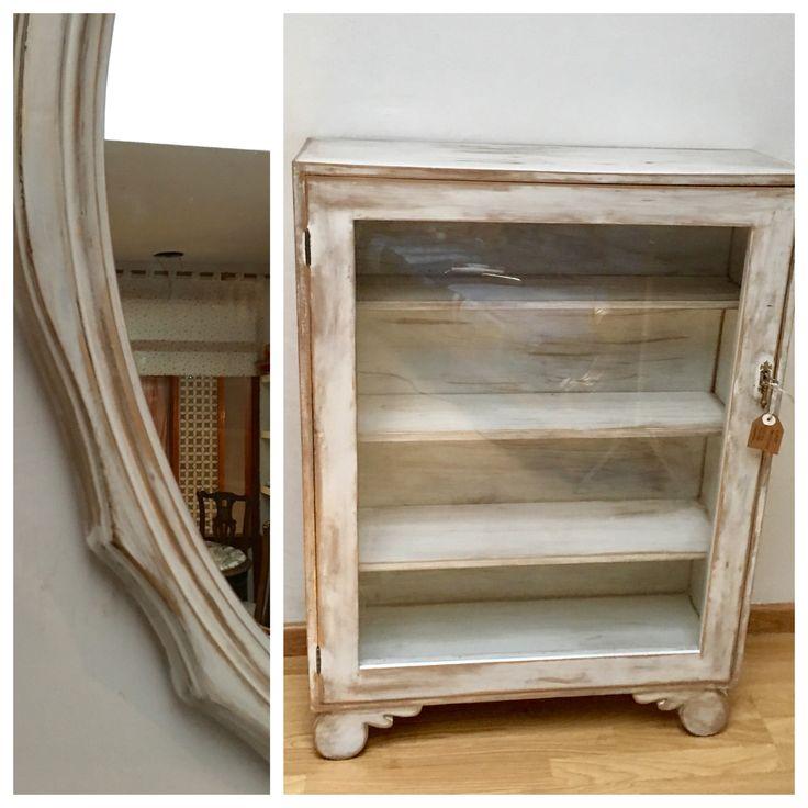 M s de 25 ideas incre bles sobre muebles blancos antiguos for Tunear muebles antiguos
