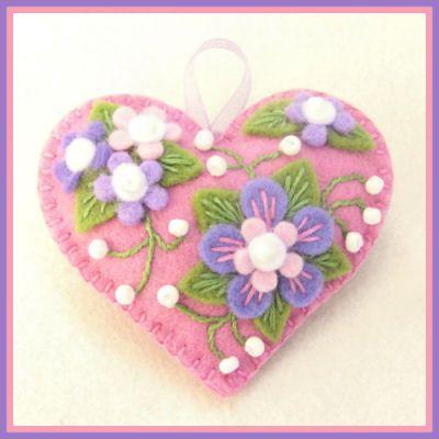 Jolion Happy Heart Violet Flower by Jolion., via Flickr