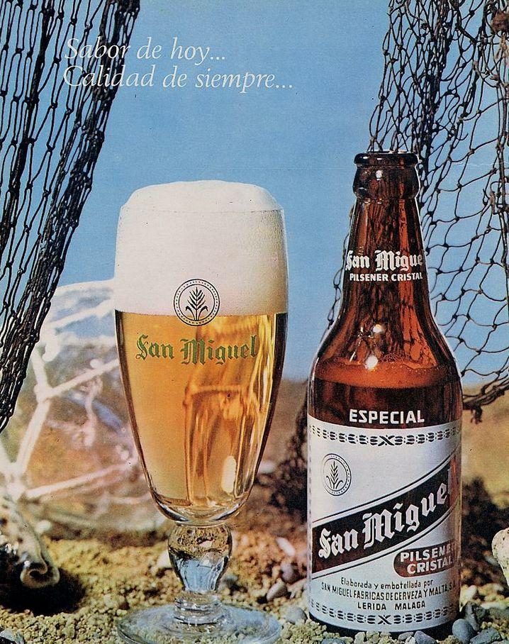 Cerveza San Miguel. Año 1965