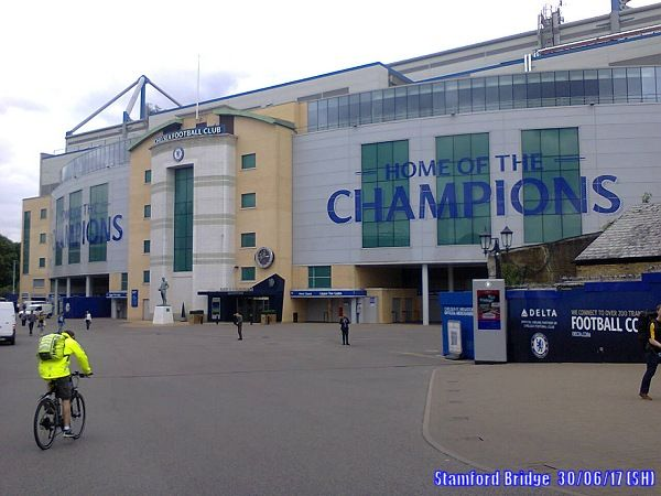 Passing by the 'Home Of The Champions' - Stamford Bridge #CFC.