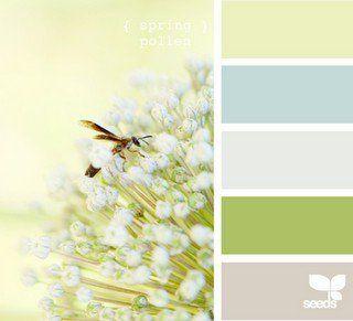 {Inspiration} Beautiful colour combinations