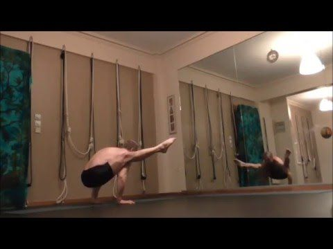 Ashtanga Vinyasa Yoga - Titibhasana to Adho Mukha Vrksasana
