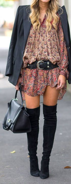 Dont usually like knee boots but this is ok. However, Id still rather have combat or rider boot.