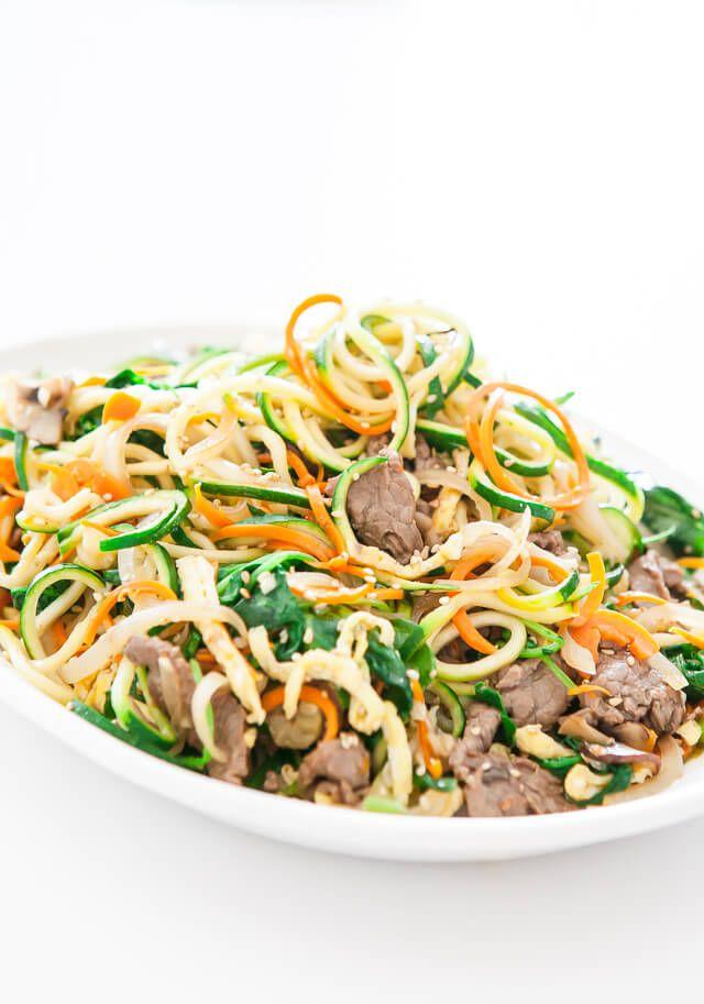 spiralized zucchini noodles japchae korean recipe-5094-2