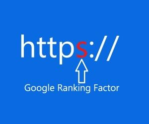 HTTPS as ranking signal