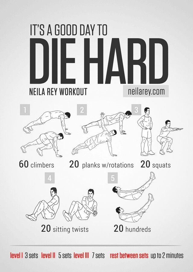 bruce willis workout!