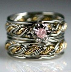 Brides Handfastings Rings Weddings:  Renaissance Wedding #Rings.