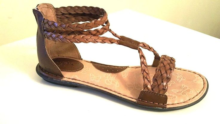BOC Born Concept Women's MACEDONIA GLADIATOR SANDALS US 9 M Brown  #BOC #Gladiator #Casual