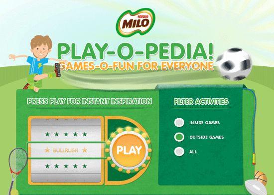 Milo Play-O-Pedia, fun Facebook App