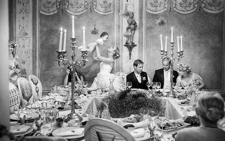 Wedding banquet in Krakow, Poland