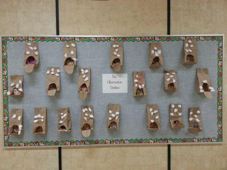 Hibernation Station, Squish Preschool, Collection Ideas, Classroom ...
