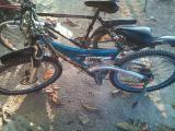 vendo bicicleta en buena condicion con gomas nueva...