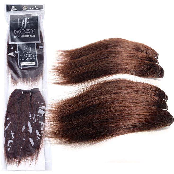 $8.91 (Buy here: https://alitems.com/g/1e8d114494ebda23ff8b16525dc3e8/?i=5&ulp=https%3A%2F%2Fwww.aliexpress.com%2Fitem%2FEVET-Brazilian-Virgin-Hair-Silky-Straight-2pcs-set-Dark-Brown-Brazilian-Hair-Weave-Bundles-Human-Hair%2F32619905109.html ) EVET Brazilian Virgin Hair Silky Straight 2pcs/set Dark Brown Brazilian Hair Weave Bundles Human Hair Weave 2x8inches Super soft for just $8.91