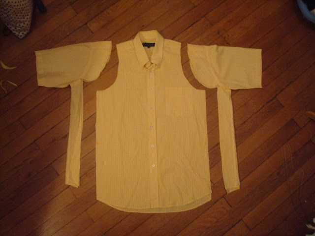 "Crafty Bitches - Blog DIY, Couture, Déco, Vintage. Tuto couture, Do it yourself, décoration, rétro.: Tuto couture : Transformer une chemise moche en chemisier ""pin-up"""