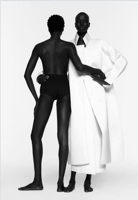 Shot by Paul Jung and styled by Jessica Willis, this black-and-white editorial for Suited magazine features four South Sudanese beauties, Atong Arjok, Mari Malek, Mari Agory, and Nykhor Paul, who i...