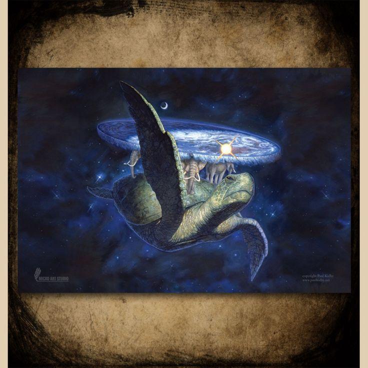A'tuin Discworld Game Mat