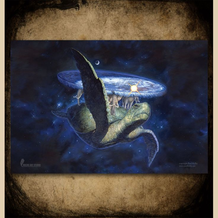 A'tuin Discworld Game Mat