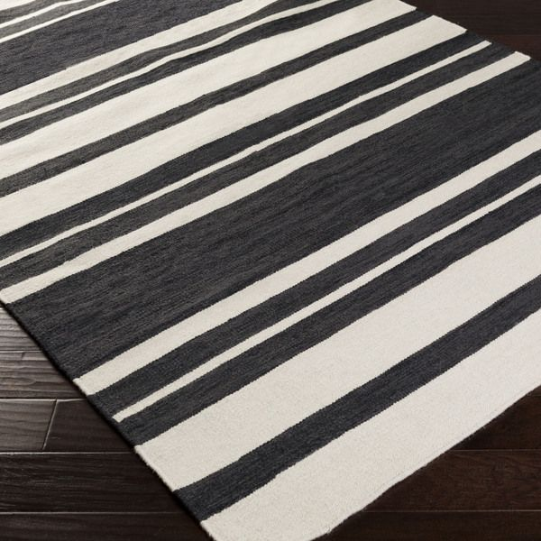 Random Black White Striped Rug Yahoo Search Results Yahoo Image Search Results Striped Rug Rugs Flat Weave