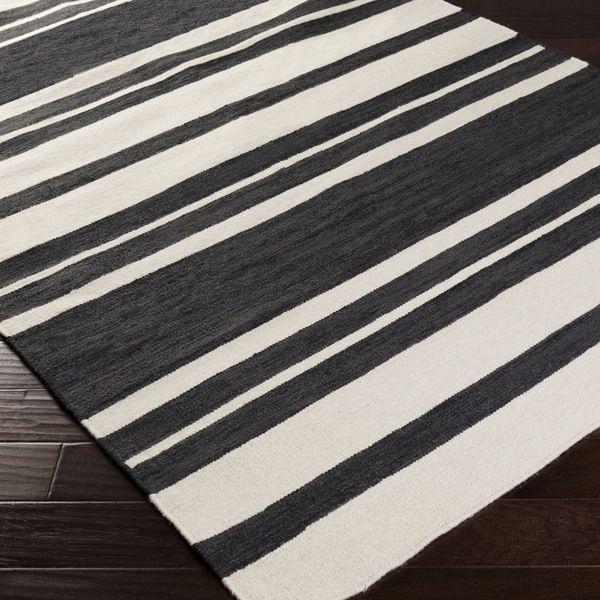 Random Black White Striped Rug Yahoo Search Results Yahoo Image