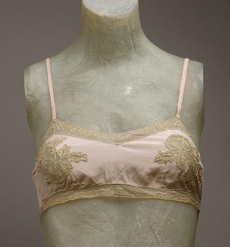 1920's brassiere.  Good bye restrictive corset!