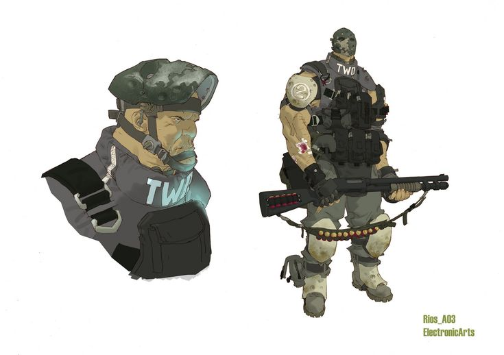 the Art of Clement Sauve: Army of Two