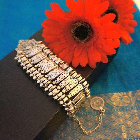Bohemian Style Silver Bracelet – Stuff I Want