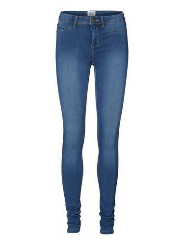#VERO #MODA #Damen #Jeggings #Dehnbar #blau - Slim-Fit-Jeggings. - Normal waist. - Taillenbund mit Gürtelschlaufen. - Reiß- und Knopfverschluss. - Zwei Taschen hinten. - Zwei Ziertaschen vorn.