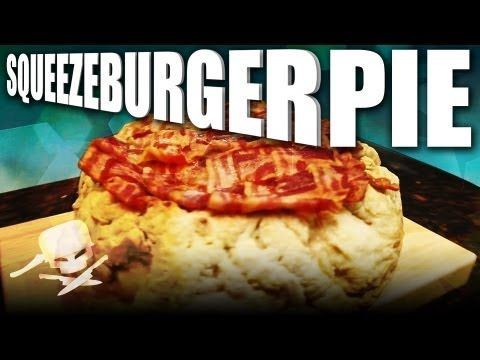 Squeezeburger Pie - Epic Meal Time