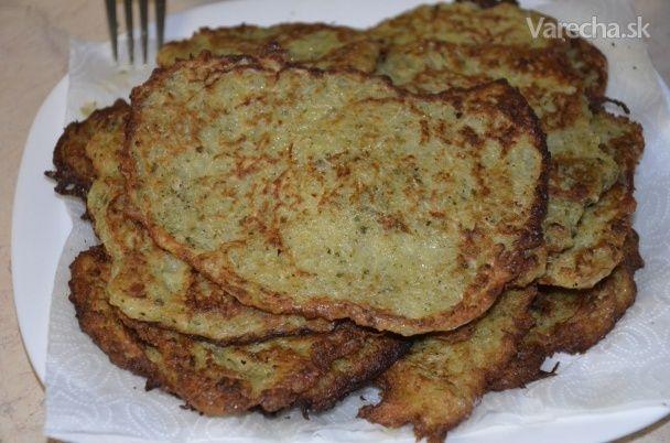 Kalerábovo-zemiakové placky (fotorecept)