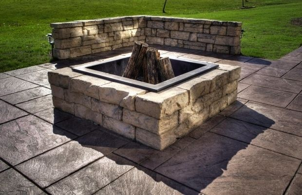 Incredible Square Fire Pit Insert Pavestone Fire Pit Insert Google Image Result For With Pavestone Fire Pit Insert Fire Pit Square Fire Pit