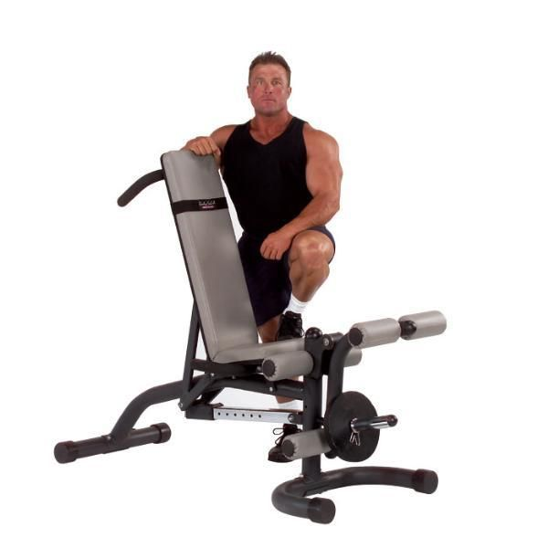Body Solid Olympic Leverage Flat / Incline / Decline Bench - FID46