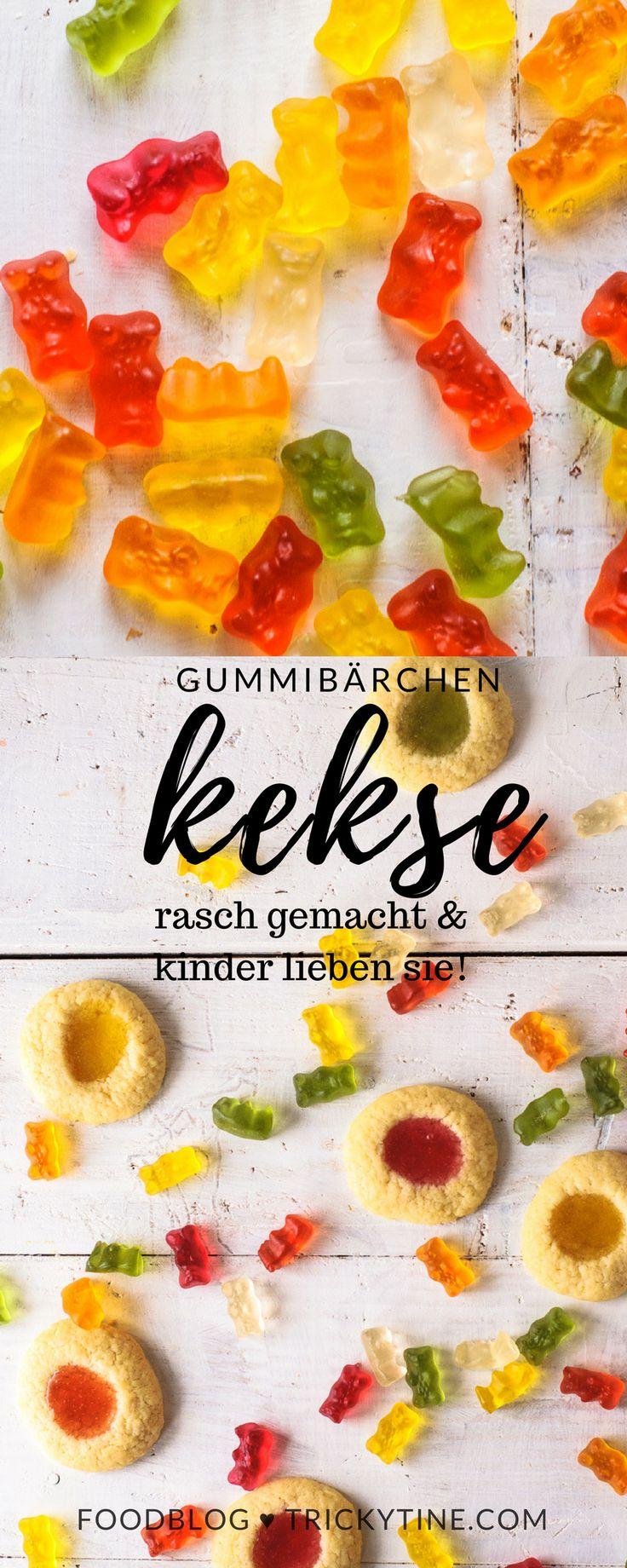 gummibärchenkekse ♥ trickytine #food #blog #trickytine #cookies #bummibärchen #kids #baking