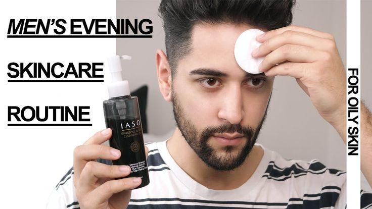 Men's Evening Skincare Routine  ✖ James Welsh Skincare tips for men based on the Korean 10 step routine #allbeauty #menshealthweek