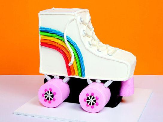 Die Besten 25 Rollschuh Kuchen Ideen Auf Pinterest Roller Skates Kaufen Rollschuhe Kaufen
