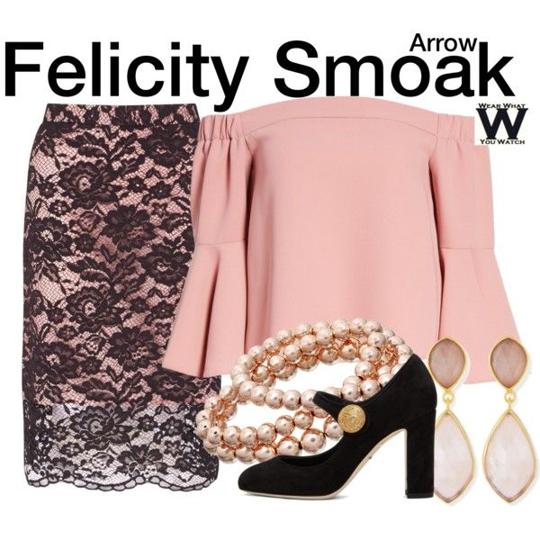 Inspired by Emily Bett Rickards as Felicity Smoak on Arrow.