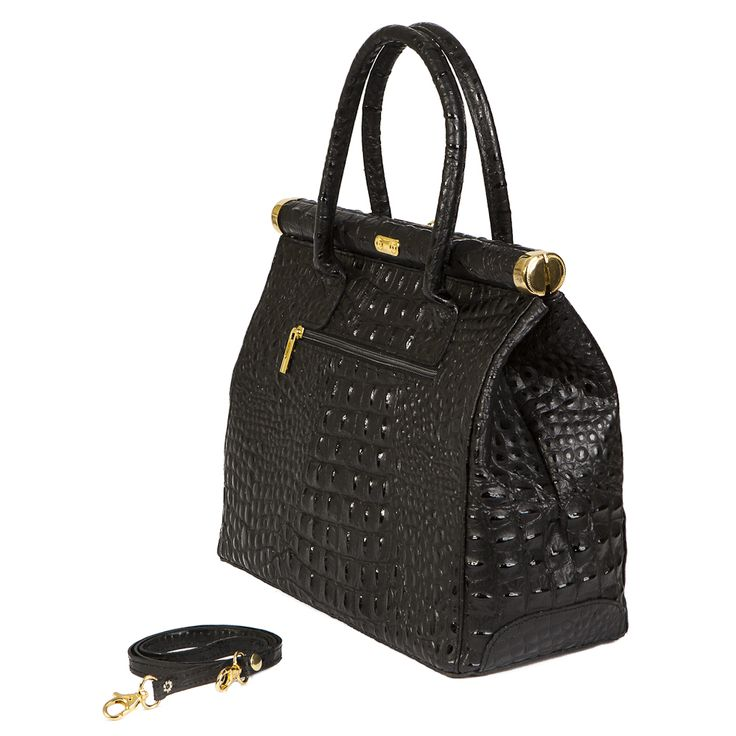 Diana Clara croc embossed Italian leather handbag. made in Italy  FREE SHIPPING WITHIN AUSTRALIA
