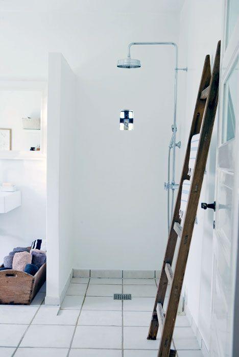 rustikt badeværelse