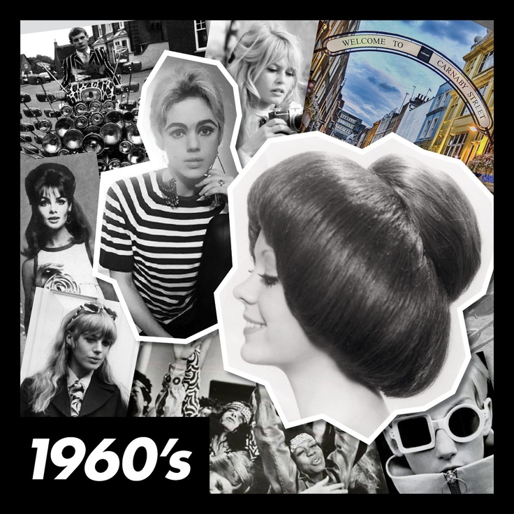 #ToniAndGuy #1960s #60s #style #hair #fashion