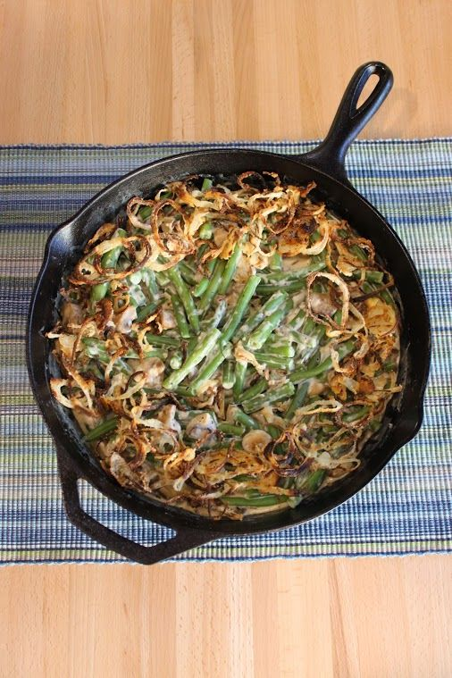 Alton Brown - Google+ - Best Ever Green Bean Casserole Yield: 4-6 servings For the…