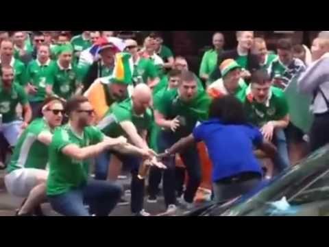 Voici pourquoi les Irlandais ont déjà gagné l'Euro 2016 des supporters ! - YouTube