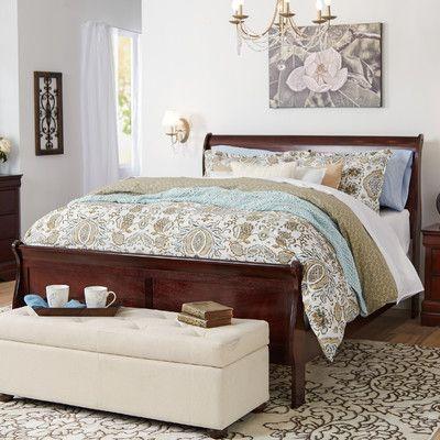 Three Posts Allington Queen Sleigh Bed