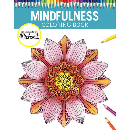 <div>Live in the present moment and calm your mind as you color the 56 peaceful images in this M...