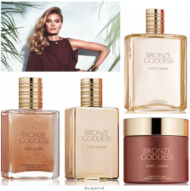 Estee Lauder Bronze Goddess Fragrance Collection for Summer 2014