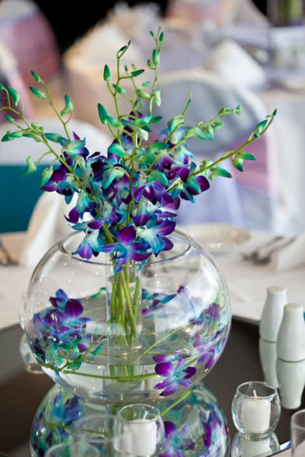 10 best images about vase boule on pinterest aquarium decorations mariage and vases. Black Bedroom Furniture Sets. Home Design Ideas