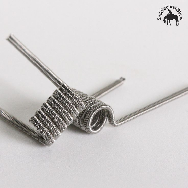 Originated by the man himself, Squidoode, the Staggered Fused Clapton is the workhorse of the coil collection. A sturdy and long-lasting coil, it's comprised of 2 cores each with a spaced wrap and then fused together with an outer wrap. Available in lower or higher Ohms, once you try these out they'll be a mainstay in your collection.