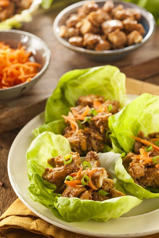Honey Sesame Chicken Lettuce Wraps | Clean Food Crush | Bloglovin'