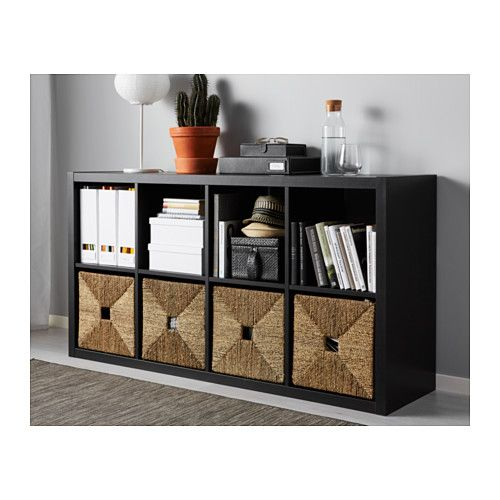 oltre 25 fantastiche idee su kallax shelf su pinterest. Black Bedroom Furniture Sets. Home Design Ideas