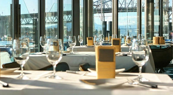 Looking to indulge? Why not dine with a view of the ocean! The 2012 Unconvention had their experience dinner at C Restaurant- a contemporary fish restaurant in False Creek.
