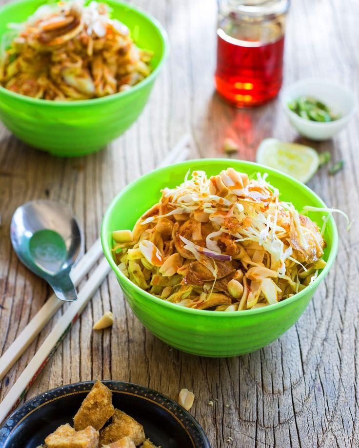 Noodle salad (khauk swe thoke)